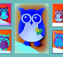 Owl Collection by B. I. Rusted by ©The Creative  Minds