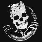 Grunge Skeleton Funny Design T-Shirt by Denis Marsili - DDTK