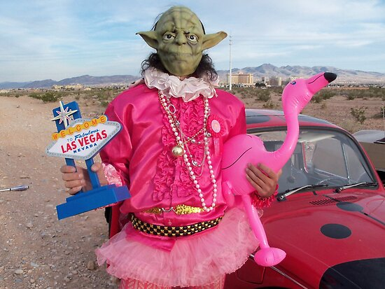 Yoda in Vegas by jollykangaroo