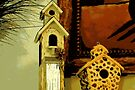Birdhouse Still Life by AuntDot