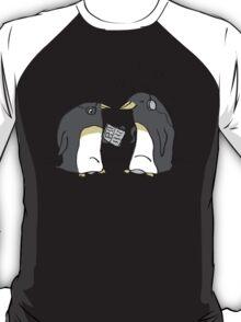 Waiting Penguins T-Shirt