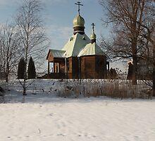 Chapel on the shore  by mrivserg