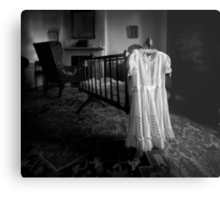 A White Dress In The Nursery Metal Print