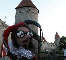 Psychedelic Jester by jollykangaroo