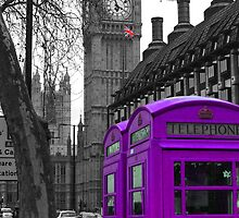 London - Purple by stevebluey