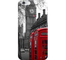 London - Red iPhone Case/Skin