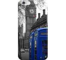 London - Blue iPhone Case/Skin