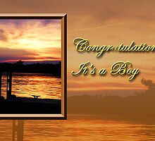 Congratulations It's A Boy Pier by jkartlife