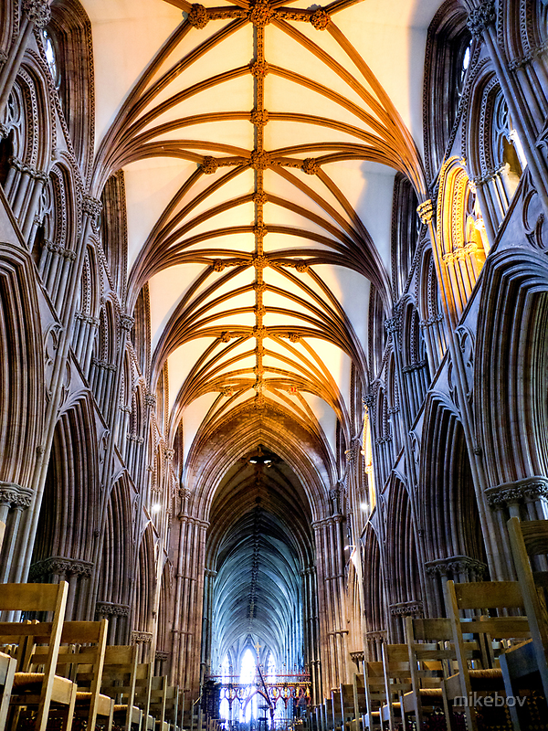 Lichfield Cathedral by mikebov