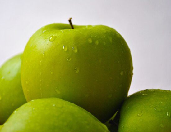 Green Apples by Bill Colman