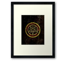 OCCULTIST UNION LOCAL 666     019 Framed Print