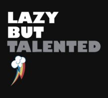 Lazy But Talented - Rainbow Dash by jblee22