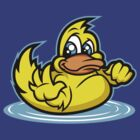 HELLO RUBBER DUCKIE by SmittyArt