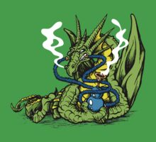 HOOKAH DRAGON by SmittyArt