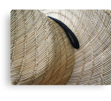 Hats Off to the Gardeners Canvas Print