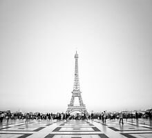 Eiffel Tower by Andrew & Mariya  Rovenko