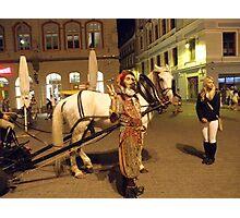 Jester in Latvia Photographic Print