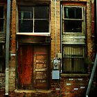 Door in a Minden Alley by Patito49