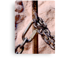 Chained Canvas Print