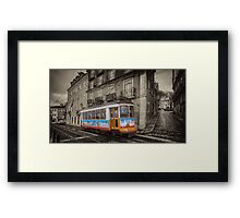 Carris Tram 574 Lisbon Framed Print