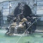 Library of Congress Fountain by Ryan Eberhart