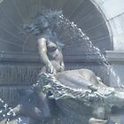 Library of Congress Fountain 2 by Ryan Eberhart