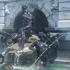 Library of Congress Fountain 3 by Ryan Eberhart