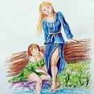 The story of Apollo e Daphne by Francesca Romana Brogani