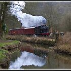 Class N7/4 69621 Locomotive by alan tunnicliffe