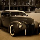 1940 Ford Sedan Hot Rod by TeeMack