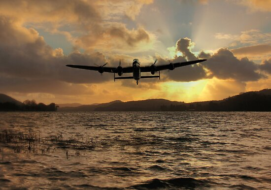 Lancaster and the Lake by James Biggadike