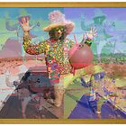 Psychedelic Space Hopper by jollykangaroo