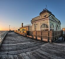 St Kilda Pier Kiosk Revisited by William Bullimore