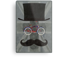 Bicycle Head Metal Print