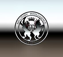 MI6 Military Intelligence Section 6 iPhone Case by jlerner