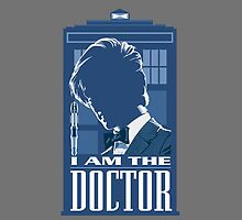 doctor who - i am the doctor iphone case by plumpflower