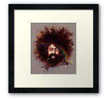 Reggie Watts Framed Print