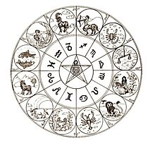Horoscope Sign Chart by gleviosa
