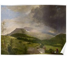 Approaching Storm, White Mountains, 1820s Poster