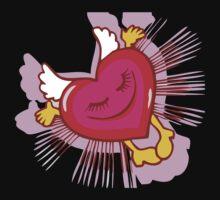 Love Heart T-Shirt Kids Clothes