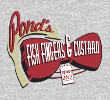 Fish Fingers & Custard Kids Clothes
