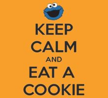 T-Shirt KeepCalm Cookie by OwnedByGemini