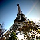 Wide angle Eiffel by mpstone