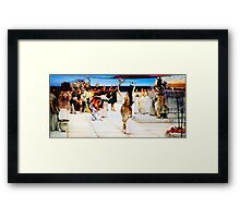 A Dedication to Bacchus by Sir Lawrence AlmaTadema Framed Print