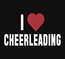 I Love Cheerleading Dark by SportsT-Shirts