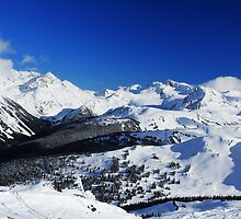 Garibaldi Provincial Park mountains by Charles Kosina