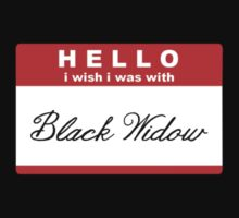 "HELLO i wish i was with ""Black Widow"" by Gilove2dance"