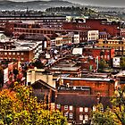 Dudley High Street West Midlands UK HDR Image  by Blitzer