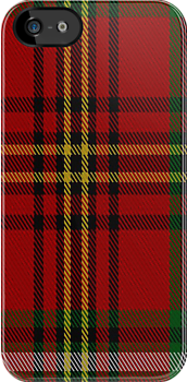 00301 Carlow County Crest Range Tartan Fabric Print Iphone Case by Detnecs2013