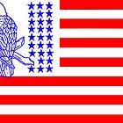 USA Flag by gloriajean